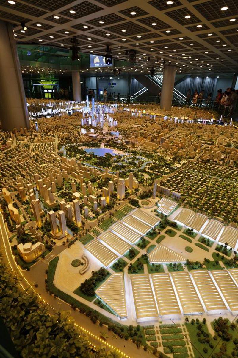 上海城市规划馆小记