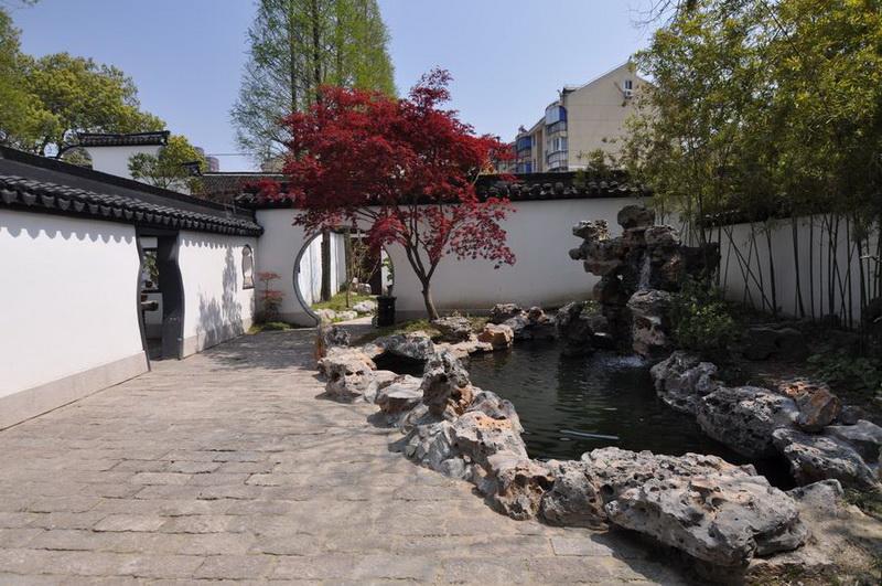 中西古典园林建筑比较图片 中国古典园林建筑 中西古典园